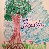 My visualization of what it means to Flourish.